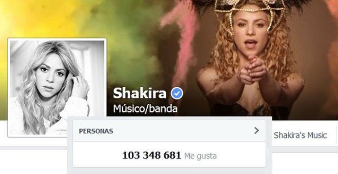 Shakira entrará en el libro Guinness