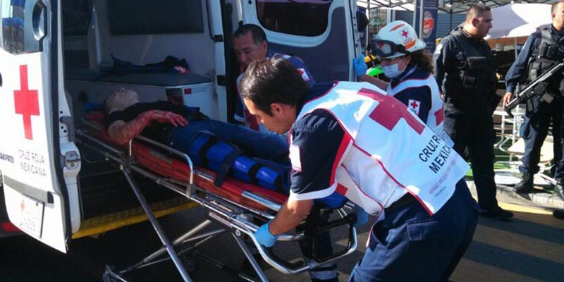 Javier Rosas fue baleado en Culiacán, Sinaloa.