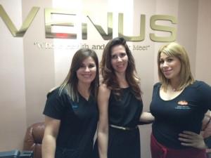 La Nueva 99.5 en Venus Med Spa McAllen