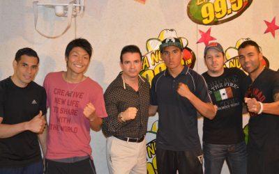 STFC Fighters visitando La Nueva 99.5