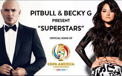 Pitbull y Becky G interpretan la canción oficial de la Copa América Centenario