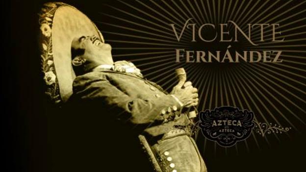 Vicente Fernández da a conocer la portada de su nueva producción discográfica