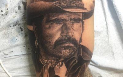 ¡Fotos! Nieto De Vicente Fernández Lo Homenajea Con Tatuaje