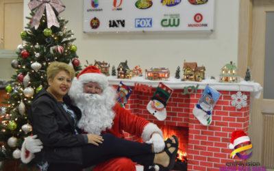 Fotos con Santa en Entravision